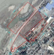 Административные,  производственные и прочие здания на 3, 7 га земли